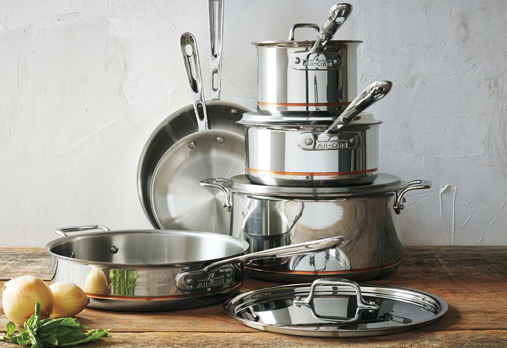 All-Clad Copper Core cookware set