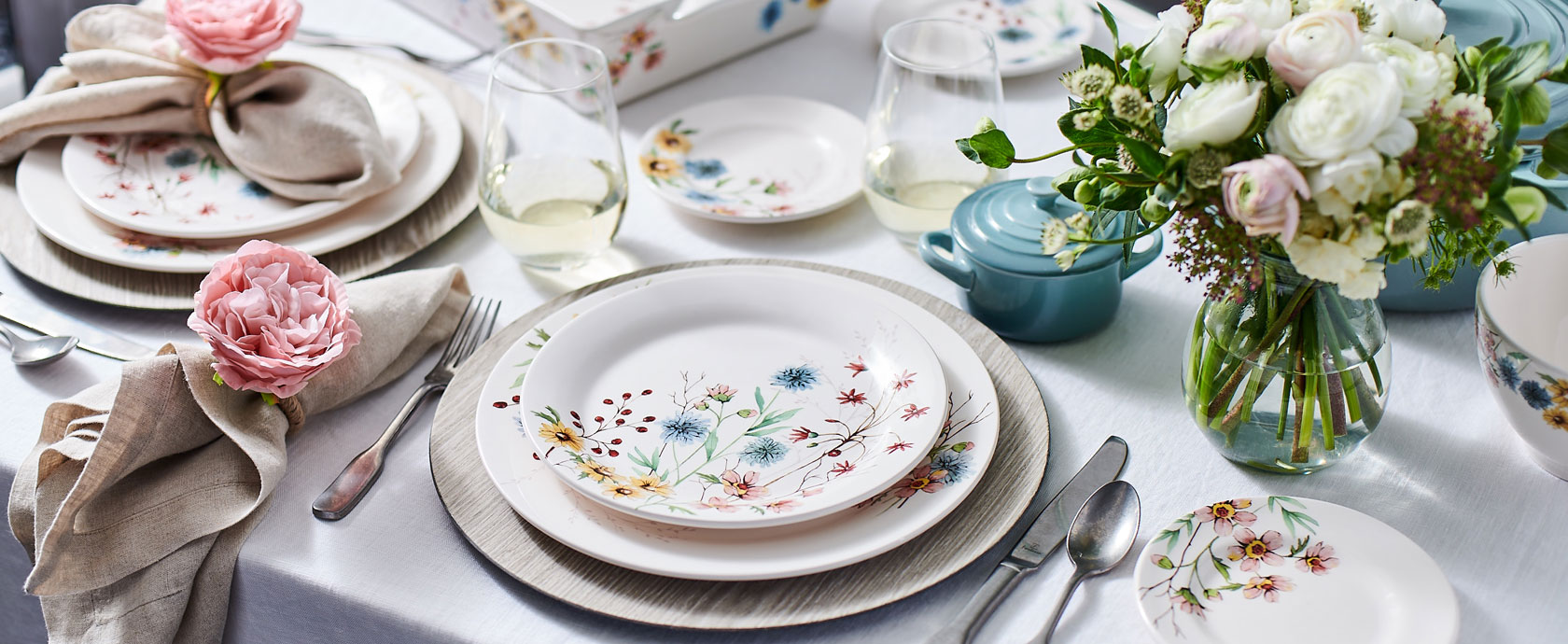 Wildflower dinnerware