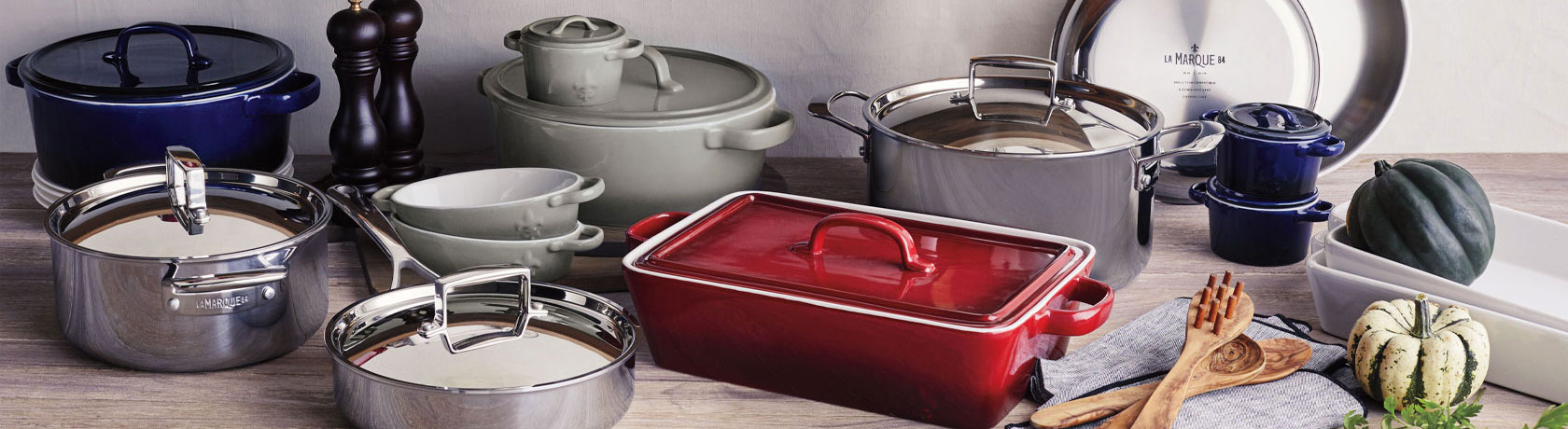 La Marque 84 cookware at Sur La Table