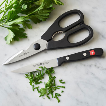 BUSINESS GIFTS, kitchen shears and paring knife