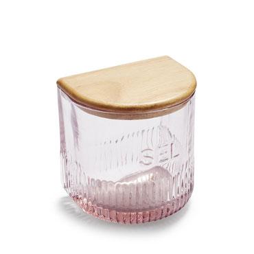 Sel Glass Salt Box