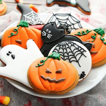 Online Halloween Cookie Decorating