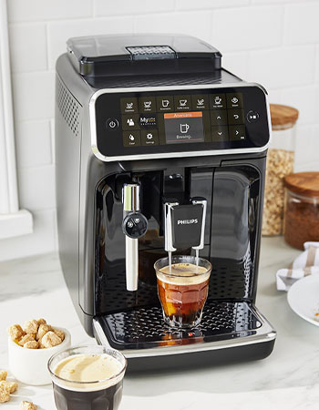 Philips coffee and espresso machine
