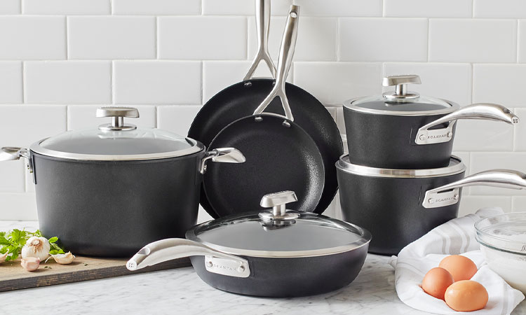 SCANPAN PRO S+ cookware set