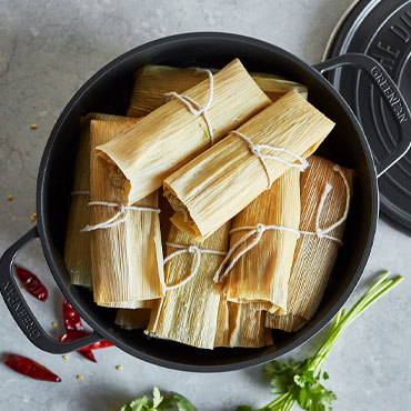 Prep Now, Eat Later: Holiday Tamales