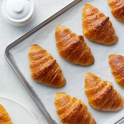 Classic French Croissants cooking class