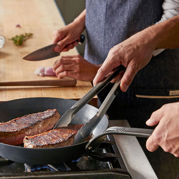 Date Night: Steak and Crab Cakes cooking class