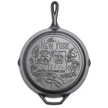 Lodge Road Trip New York Skillet, 12 inch