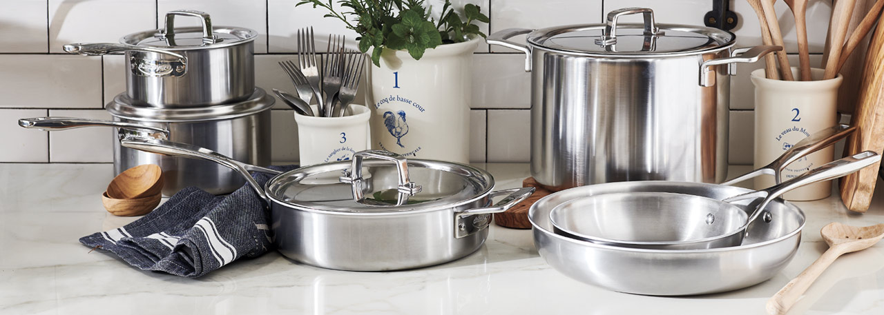 Demeyere Essential5 stainless cookware