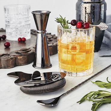 FOR THE BARTENDER, cocktail making kit