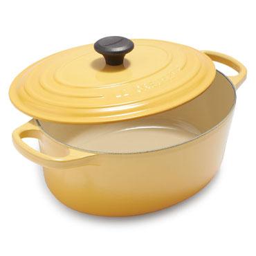 Le Creuset Signature Oval Dutch Oven, 3.5 qt., Honey