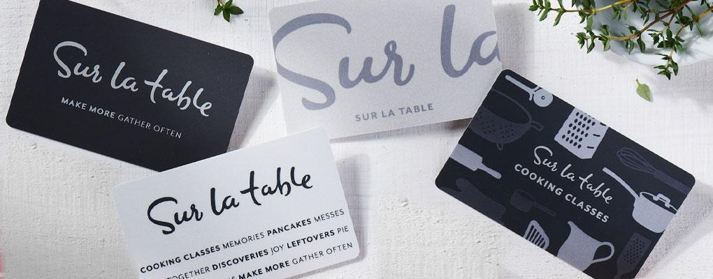 Sur La Table gift cards