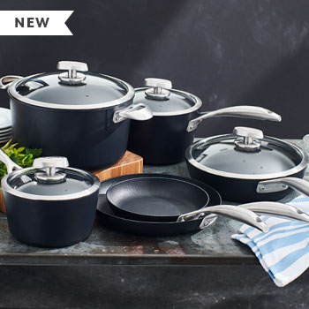 New Scanpan Pro S+ cookware