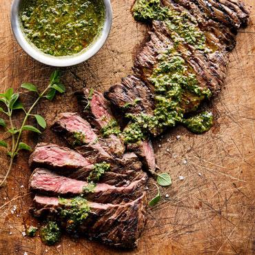 Steak Night online cooking class