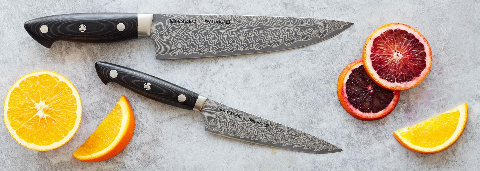 Bob Kramer chef's knives