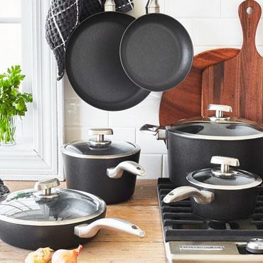 COOKWARE, Scanpan cookware set