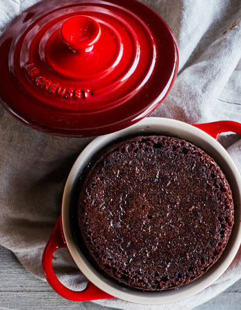 Le Creuset cocottes for baking