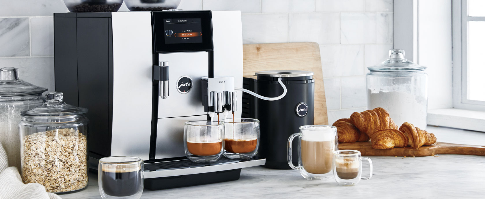 Jura Giga coffee and espresso machine